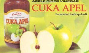 Cuka apel menghilangkan jerawat