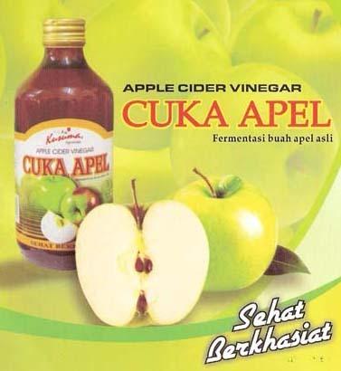 Cuka apel untuk menyembuhkan jerawat