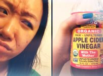 Cuka sari apel menghilangkan jerawat